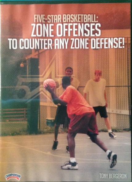 Zone Offense To Counter Any  Zone by Tony Bergeron Instructional Basketball Coaching Video