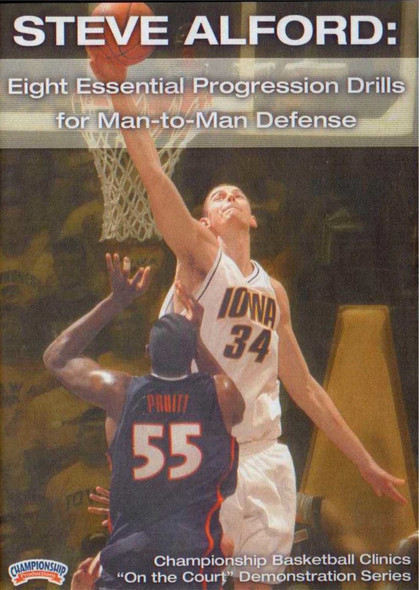 Eight Essential Progression Drills For Man-to-man Defense by Steve Alford Instructional Basketball Coaching Video