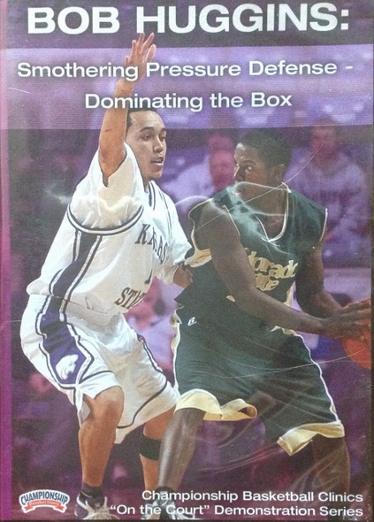 Dominating The Box--keys To Pressure by Bob Huggins Instructional Basketball Coaching Video