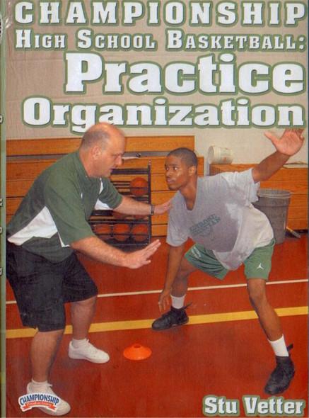 Practice Organization by Stu Vetter Instructional Basketball Coaching Video