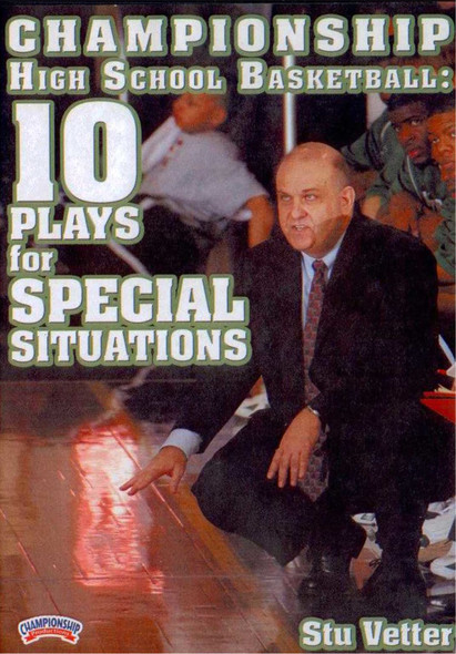 Stu Vetter: Special Situations by Stu Vetter Instructional Basketball Coaching Video