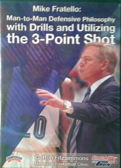 Man To Man Defensive Philosophy by Mike Fratello Instructional Basketball Coaching Video
