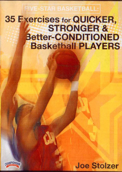 Player Strength & Conditioning by Joe Stolzer Instructional Basketball Coaching Video