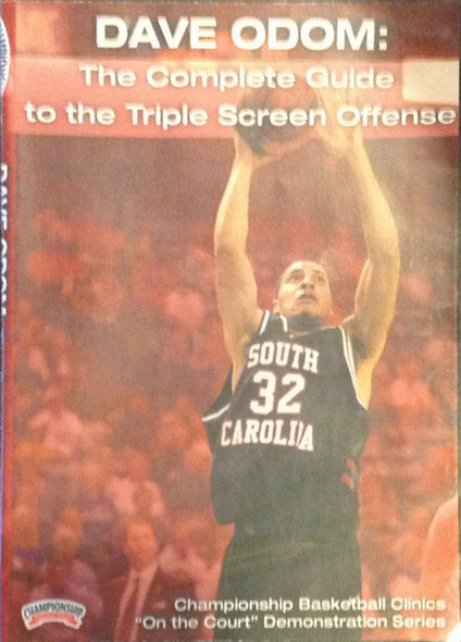 Complete Guide To The Triple Screen by Dave Odom Instructional Basketball Coaching Video