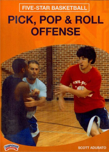 Pick, Pop And Roll Offense by Scott Adubato Instructional Basketball Coaching Video