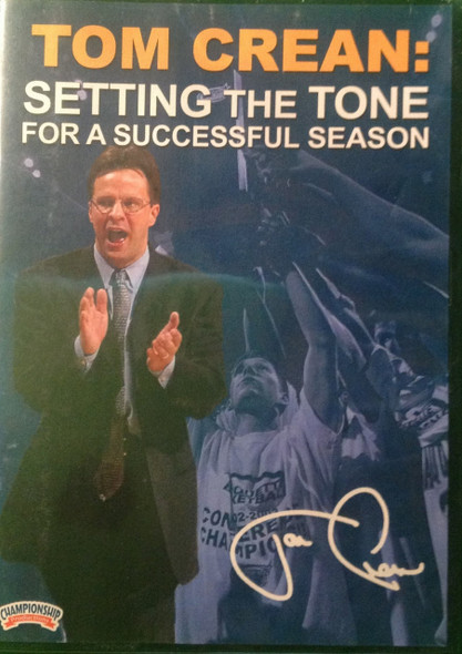 Setting The Tone For A Successful by Tom Crean Instructional Basketball Coaching Video