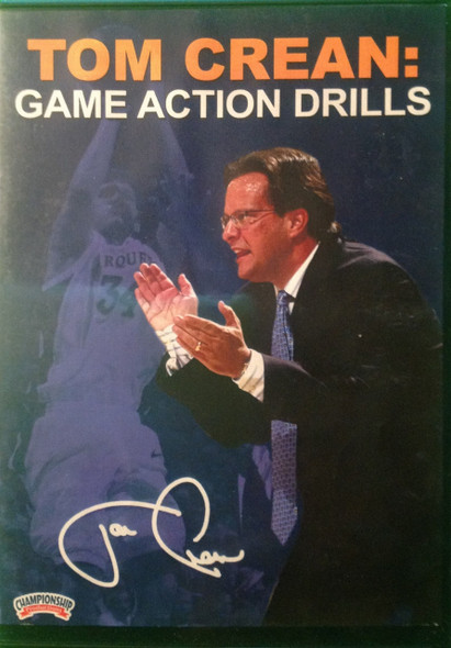 Game Action Drills by Tom Crean Instructional Basketball Coaching Video
