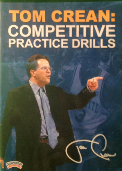 Competitive Practice Drills by Tom Crean Instructional Basketball Coaching Video