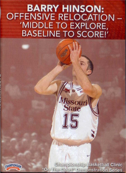 Offensive Relocation - 'middle To Explore, Baseline To Score!' by Barry Hinson Instructional Basketball Coaching Video