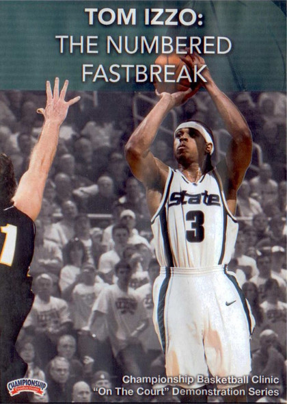 The Numbered Fastbreak by Tom Izzo Instructional Basketball Coaching Video