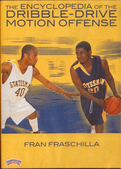 Encyclopedia Of The Dribble Drive Motion Offense by Fran Fraschilla Instructional Basketball Coaching Video