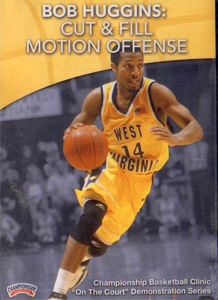 The Cut & Fill Motion Offense by Bob Huggins Instructional Basketball Coaching Video