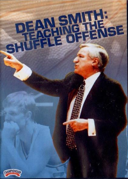 Dean Smith: Teaching The Shuffle Offense by Dean Smith Instructional Basketball Coaching Video