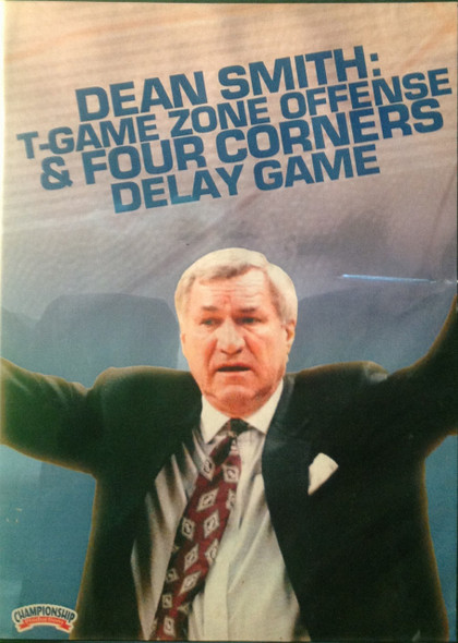 T-game Zone Offense & 4 Corner Delay by Dean Smith Instructional Basketball Coaching Video
