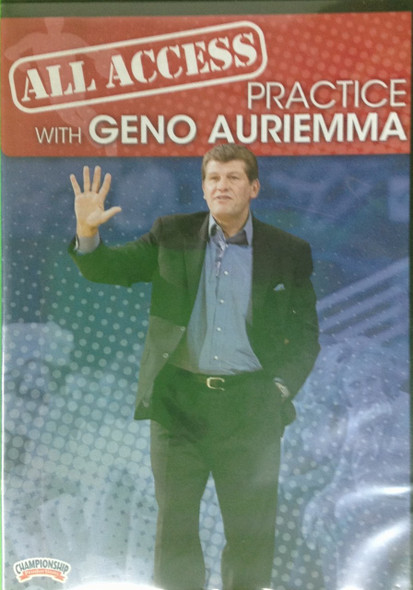 All Access: Geno Auriemma Disc 1 by Geno Auriemma Instructional Basketball Coaching Video