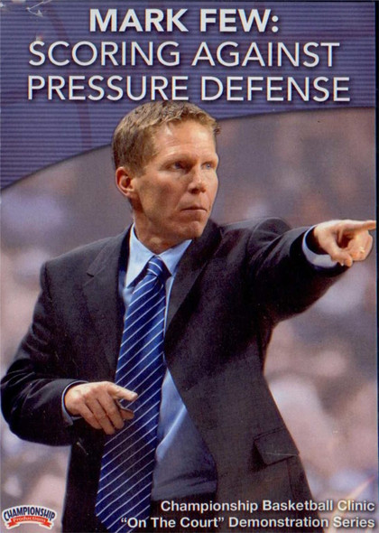 Scoring Against Pressure Defense by Mark Few Instructional Basketball Coaching Video