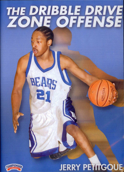 The Dribble Drive Zone Offense by Jerry Petitgoue Instructional Basketball Coaching Video