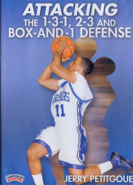 Attacking The 1--3--1, 2--3 And Box--in--1 by Jerry Petitgoue Instructional Basketball Coaching Video