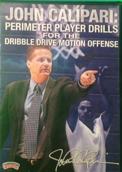 Perimeter Player Drills For The Dribble Drive Offense by John Calipari Instructional Basketball Coaching Video