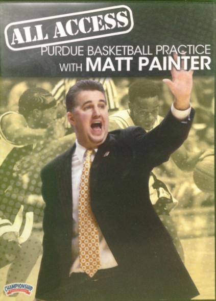 All Access: Matt Painter by Matt Painter Instructional Basketball Coaching Video