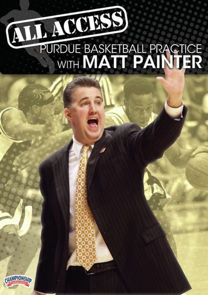 All Access: Matt Painter Disc 1 by Matt Painter Instructional Basketball Coaching Video