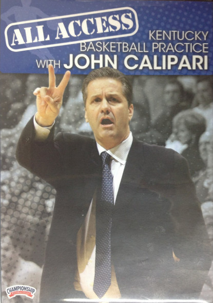 All Access: John Calipari Disc 3 by John Calipari Instructional Basketball Coaching Video