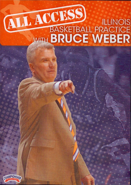 All Access: Bruce Weber by Bruce Weber Instructional Basketball Coaching Video