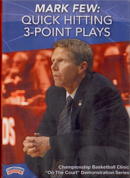 Mark Few: Quick Hitting 3--point Plays by Mark Few Instructional Basketball Coaching Video