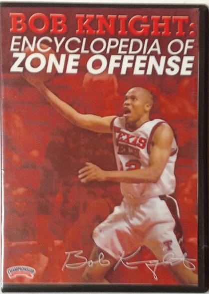 Encyclopedia Of Zone Offense by Bob Knight Instructional Basketball Coaching Video