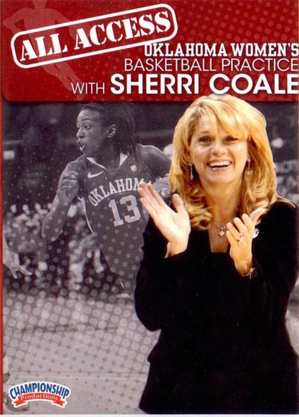 All Access: Sherri Coale Disc 1 by Sherri Coale Instructional Basketball Coaching Video