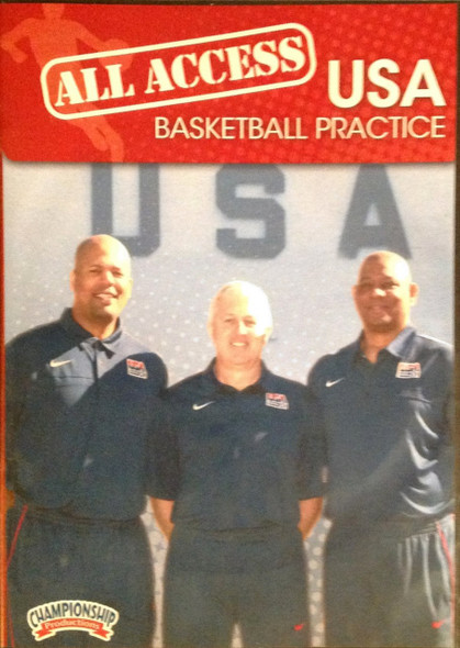 All Access: Usa Basketball Disc 2 by Don Showalter Instructional Basketball Coaching Video