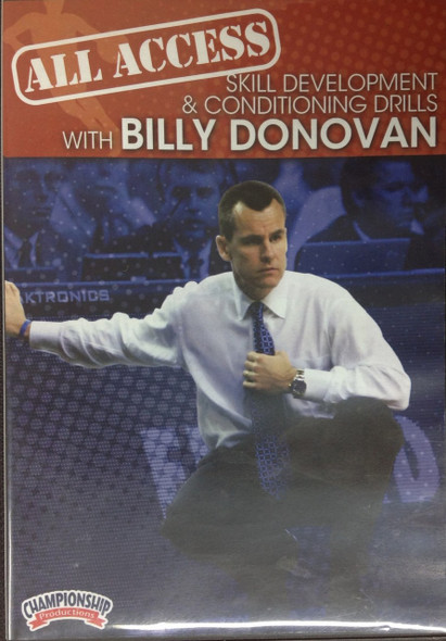 All Access: Donovan Skill  & Conditioning by Billy Donovan Instructional Basketball Coaching Video