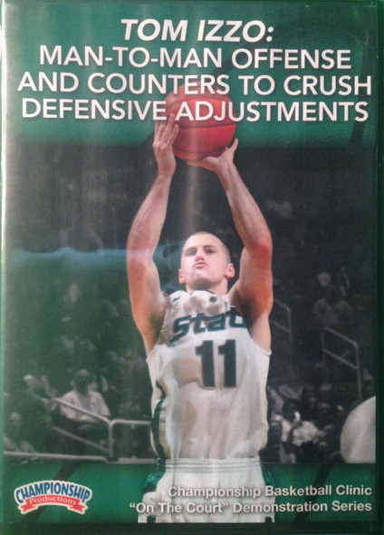 Man--to--man Offense And Counters To Crush Defensive Adjustments by Tom Izzo Instructional Basketball Coaching Video