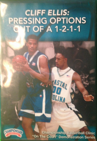 Pressing Options Out Of A 1--2--1--1 by Cliff Ellis Instructional Basketball Coaching Video