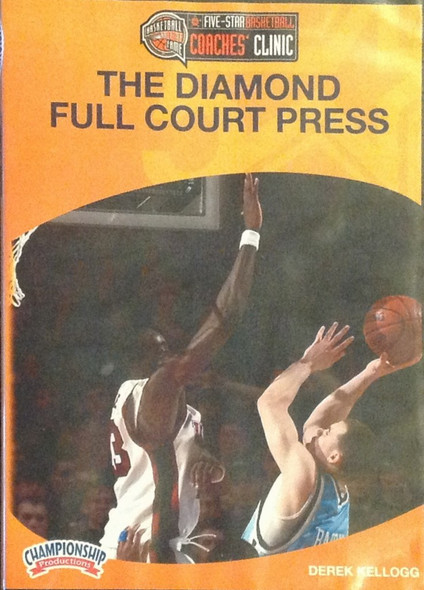 The Diamond Full Court Press by Derek Kellog Instructional Basketball Coaching Video