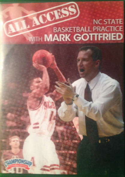 All Access: Mark Gottfried by Mark Gottfried Instructional Basketball Coaching Video