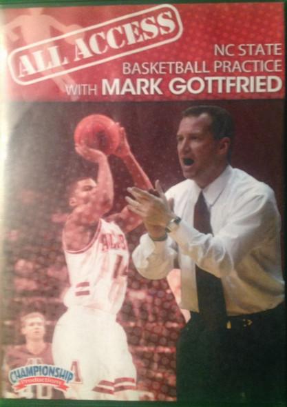 All Access: Mark Gottfried by Mark Gottfried Instructional Basketball Coaching Video