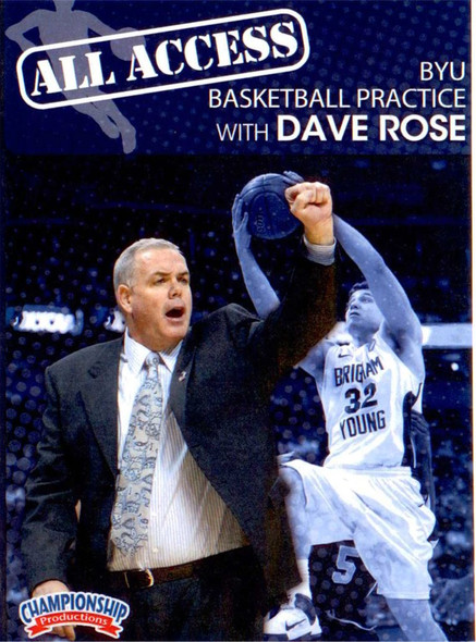 All Access: Dave Rose by Dave Rose Instructional Basketball Coaching Video