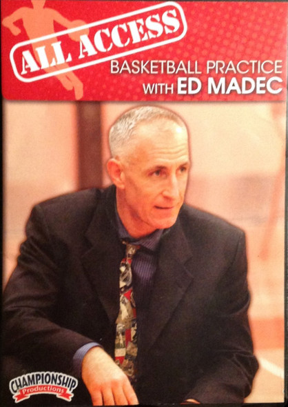 All Access: Ed Madec by Ed Madec Instructional Basketball Coaching Video