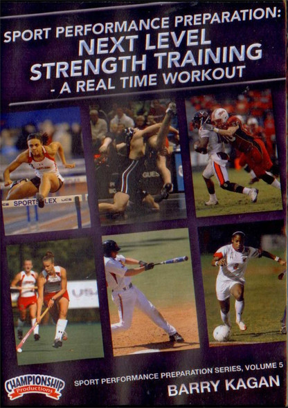 Next Level Strength Training - A Real Time Workout by Barry Kagan Instructional Basketball Coaching Video