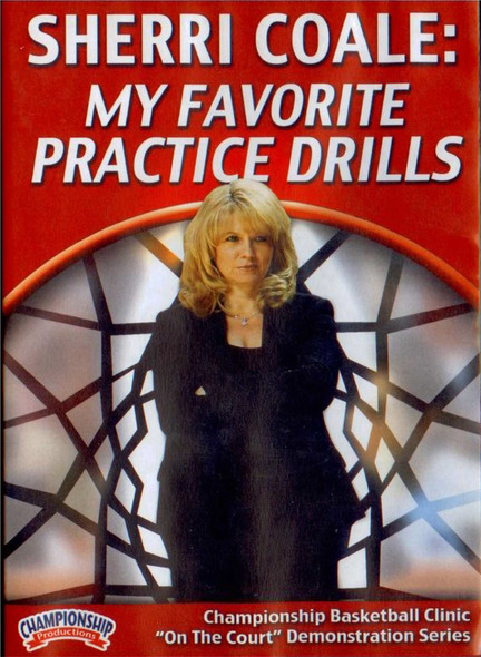 Sherri Coale: Favorite Practice Drills by Sherri Coale Instructional Basketball Coaching Video