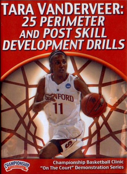 25 Perimeter & Post Skill Development Drills by Tara VanDerVeer Instructional Basketball Coaching Video