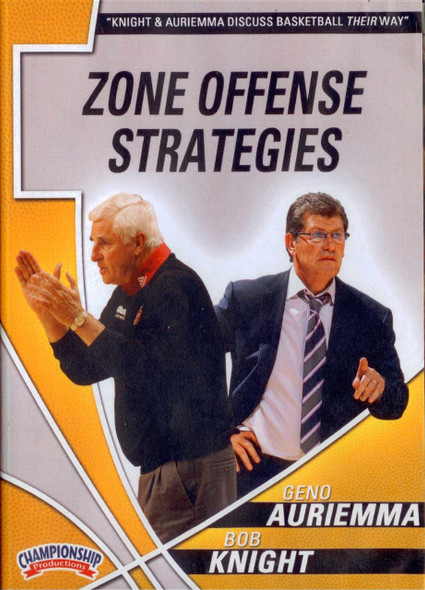 Auriemma & Knight: Zone Offense Strategies by Bob Knight Instructional Basketball Coaching Video
