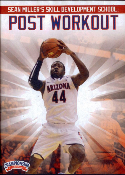 Sean Miller's Skills School: Post Workout by Sean Miller Instructional Basketball Coaching Video