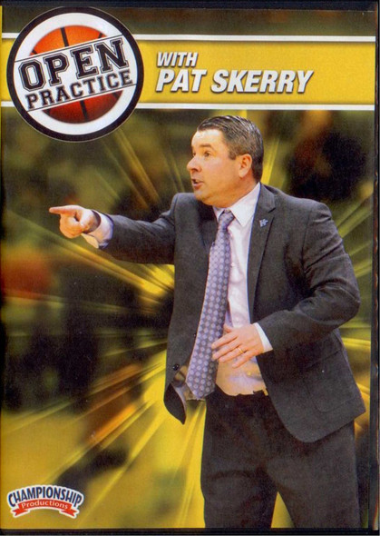 Open Practice With Pat Skerry by Pat Skerry Instructional Basketball Coaching Video