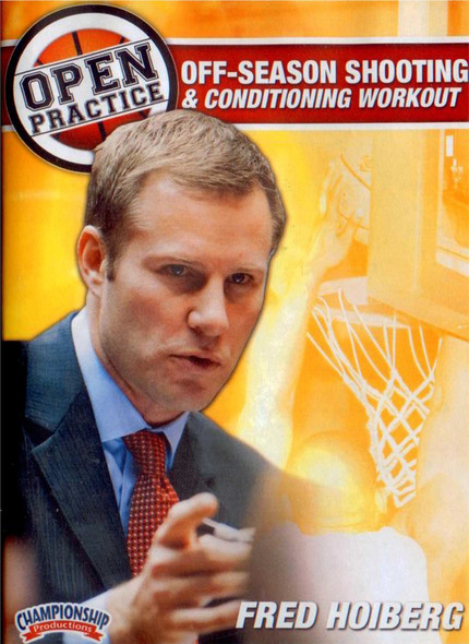 Fred Hoiberg Open Practice: Off-season Shooting & Conditioning Workout by Fred Hoiberg Instructional Basketball Coaching Video