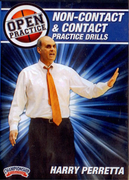 Non-contact & Contact Practice Drills by Harry Perretta Instructional Basketball Coaching Video