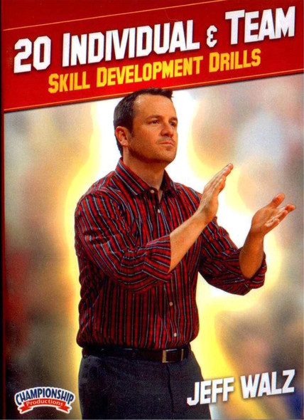 20 Individual & Team Skill Development Drills by Jeff Walz Instructional Basketball Coaching Video