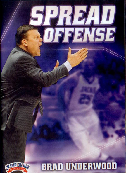 Spread Offense Basketball by Brad Underwood Instructional Basketball Coaching Video