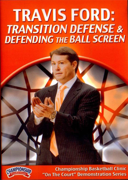 Transition Defense & Defending The Ball Screen by Travis Ford Instructional Basketball Coaching Video